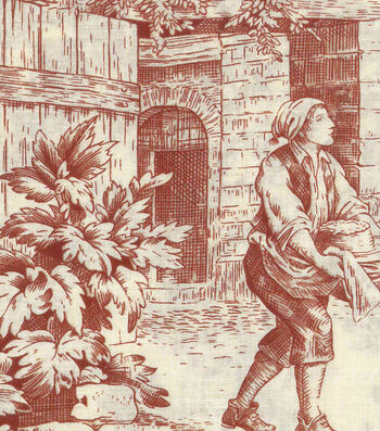 "Harvest Cotton Fabric 43""-Harvest Toile"