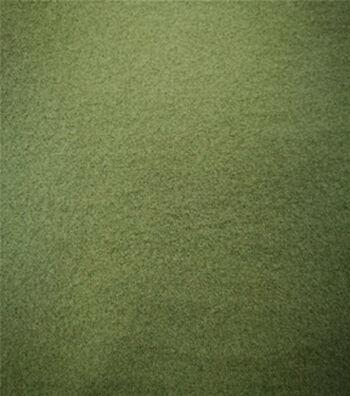 """Varsity Club Stretch Wool-Look Fabric 57""""-Army Green"""