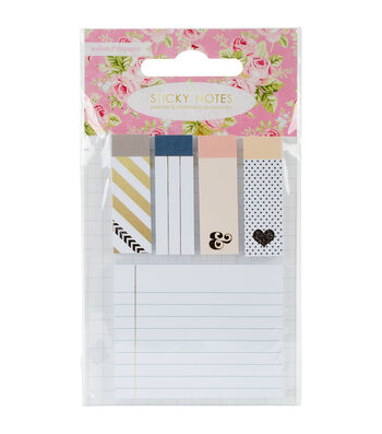 Webster's Pages Color Crush Planner 5 pk Sticky Notes