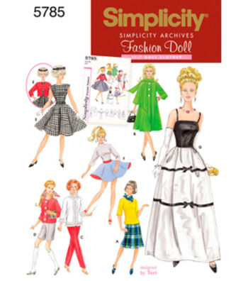 Simplicity Pattern 5785OS One Size -Simplicity Crafts