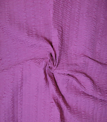 """Nicole Miller Crinkle Silky Fabric 51""""-Passion Flower"""
