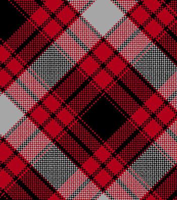 "Snuggle Flannel Fabric 42""-Annie Plaid Red"