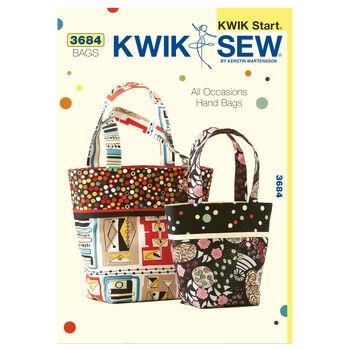Kwik Sew Crafts Totes & Bags-K3684