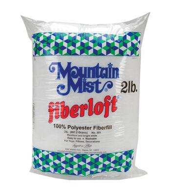 Mountain Mist Fiberloft Premium Poly Stuffing-2lb