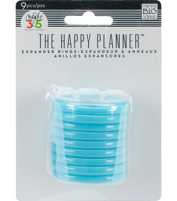 Me & My Big Ideas® 9pcs Create 365 Planner Expander Rings