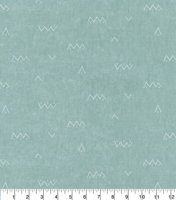 Waverly Upholstery Fabric 54''-Arrow on Solid Sea Glass