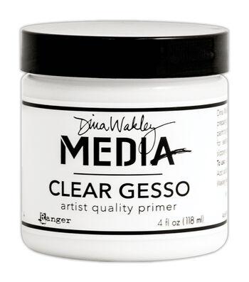 Ranger® Dina Wakley Media 4 fl.oz Mediums Clear Gesso Jar