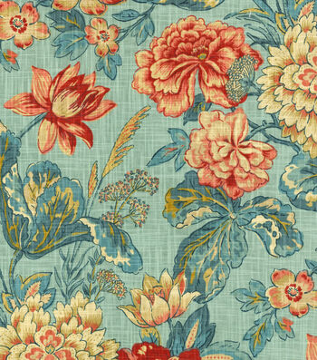 """Waverly Upholstery Fabric 54""""-Sonnet Sublime Jewel"""