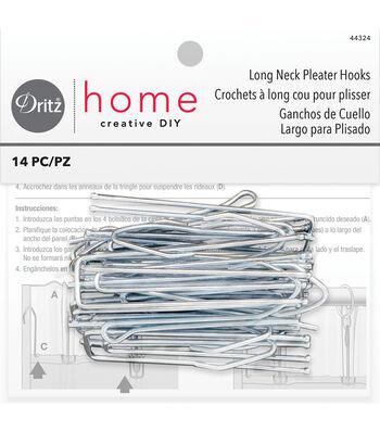 "Dritz Home 3"" Pleater Ceiling Hooks 10pcs"