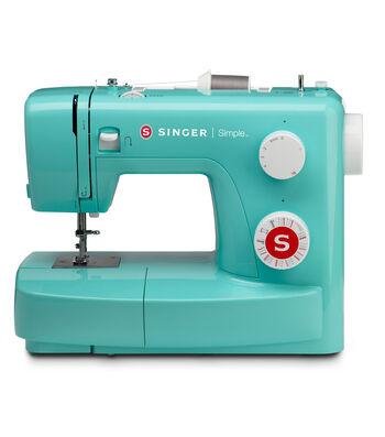 Singer® Simple™ 3223G Sewing Machine-Petrol