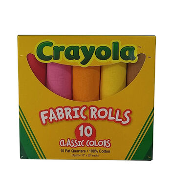 Crayola® Box of 10 Fat Quarters-Original Colors