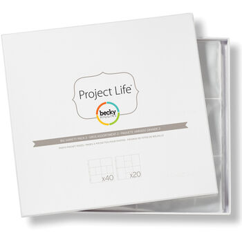 American Crafts Project Life Photo Pocket Pages Big Variety Pack 2
