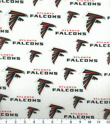 Atlanta Falcons Cotton Fabric 58''-Logo