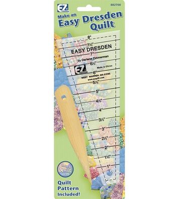 Wrights Easy Dresden Quilting Ruler
