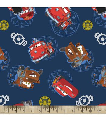 Disney® PIXAR Cars Print Fabric-Cars Allover