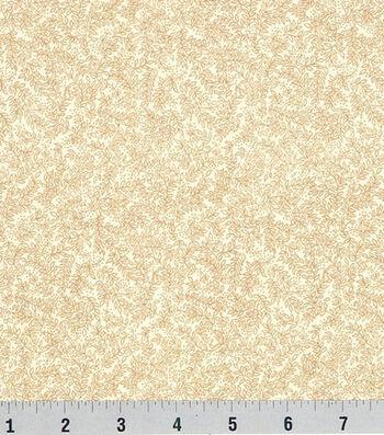Keepsake Calico™ Cotton Fabric 44''-Vinery on Cream
