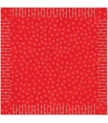 AccuQuilt Go! Fabric Cutting Die Rag Square
