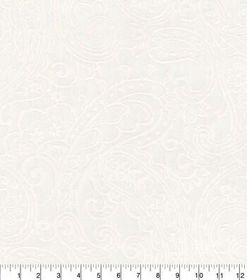 Kelly Ripa Home Upholstery Fabric 54''-Ivory Jump For Joy
