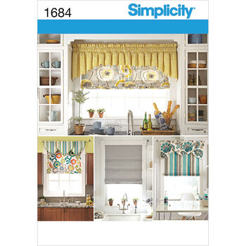 Simplicity Pattern 1684OS One Size -Simplicity Crafts Ho