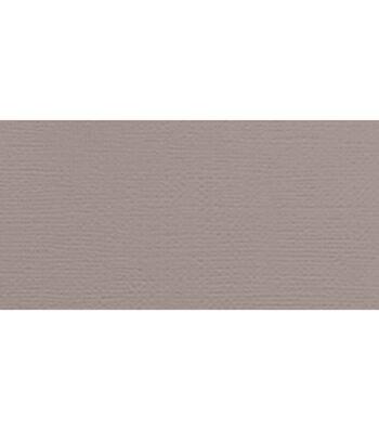 "American Crafts Textured Cardstock 12""X12""-Nickel"